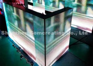 China P8 HD electronic Outdoor Full Color LED Display Light Weight 1R1G1B 15625 dots / sqm on sale