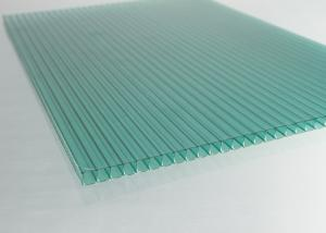 China LightWeight Polycarbonate Roofing Sheets For BusStopShelter / Building on sale