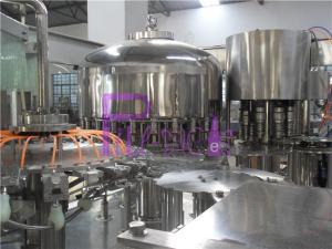 China Máquina tampando de enchimento de lavagem de enchimento da bebida da planta da água potável do PLC Monoblock on sale