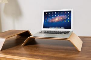 China Clear Printing Laptop Table Stand  For Desk , Notebook Tablet Stand Holder Eco Friendly on sale
