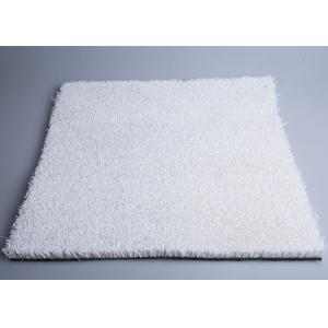 China 20mm White Color Artificial Snow Skiing Synthetic Grass For Outside Ski Simulator on sale