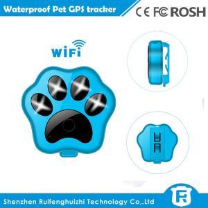 China RF-V30 smart wifi anti-lost small waterproof cheap pet gps tracker supplier