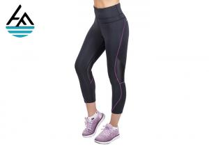 China Soft Neoprene Sauna Pants Hot Thermal High Waisted Workout Leggings For Womens on sale