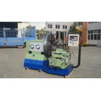Processing Flange Engine Lathe Machine , End Face Table Top Lathe Machine