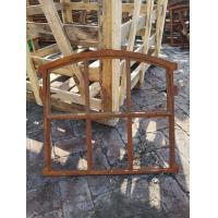 China Folding Decorative Cast Iron Windows H55xW61CM For Window Mirror Decor on sale