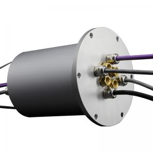 China Low Torque Smooth Transmission Capsule Slip Ring 240 VAC / DC on sale