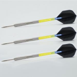 Quality 25.0g SteelTip Tungsten Dart Barrels With Tips Customized for sale