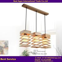 Decorative Hanging Pendant Light Concrete Pendant Light With Wood Modern Pendant Light