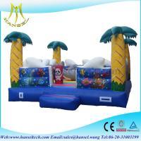Hansel china kids playground slides inflatable playground slide