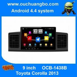 China Ouchuangbo car pc radio multimedia android 4.4 for Toyota Corolla 2013 support Korean 3g wifi bluetooth on sale