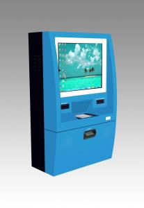 China Self Service Wall Mounted Kiosk Enclosure With Customize Color And Logo on sale
