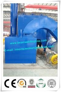 China Roller Conveyor Steel Plate Shot Blasting Machine For Removing Rust on sale