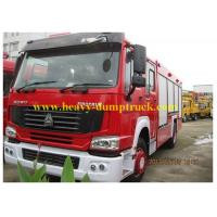 Famous brand HOWO forest fire fighting truck 4X2 Fire Escape Truck with warranty