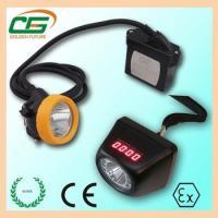 ATEX 1 Watt IP65 LED Miners Cap Lamp IP65 CE EMC , Digital LED Mining Cap Lamp