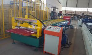 China Floor Panel Metal Roll Forming Machine / Roofing Sheet Making Machine 1050 Type on sale