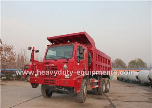 China 70 ton 6x4 mining dump truck with 10 wheels 6x4 driving model HOWO brand on sale