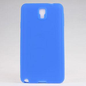 China for Samsung Galaxy Note 3 N9000 Silicone Gel Case-blue color on sale