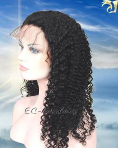 China Wholesale Brazilian Kinky Curly Human Hair Full Lace Wigs,Cheap Price on sale
