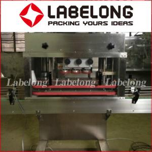 China PLC Control Linear Filling Machine , Bottle Seal Packing Machine For Chemical Liquid on sale