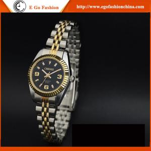 China 004C Imitation Diamond Watches Women Stainless Steel Band Woman Watch Dress Watch Luxury on sale