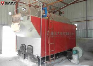 China Package Boiler Wood Fired Steam Boiler / Water Tube Steam Boiler Low Running Cost on sale