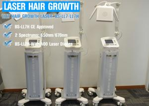 China Energy Adjustable Laser Hair Regrowth Device / Hair Loss Treatment Equipment on sale