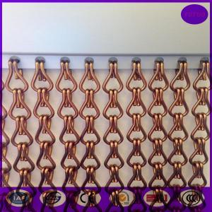 China Aluminum Chain Curtain for  Wall and Ceiling Decoration, for door as curtain on sale