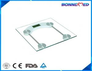 China BM-1400 body weight measuring instrument 6mm glass health medical scale top digital bathroom scale on sale