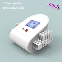 China Women Body Contouring lipo laser fat reduction machine 208 Effective Mitsubishi diodes on sale