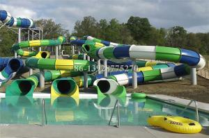 China water park construction with water  slide equipment water park price on sale