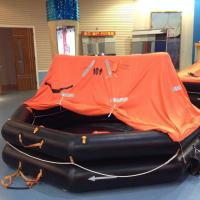 SOLAS approved EC CCS certificate cheap self inflating life raft