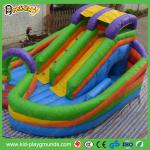el pvc inflable de la selva resbala para los niños juega, despidiendo a niños resbala, las diapositivas interiores de la yarda del juego para los niños