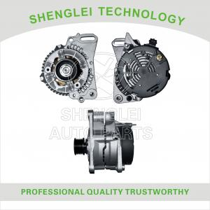 China VW Golf Car Engine Alternator / Car Engine Generator Fixed Pulley Type on sale