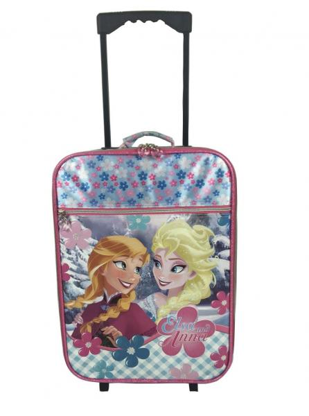 Satin Or PVC Sublimation Print Girl Trolley School Bags For Kids ln Pink  Images d9fbd60ed38bb