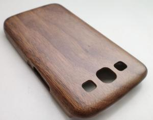 China Walnut Wood Samsung Galaxy S3 Wooden Cases With Smooth Surface on sale