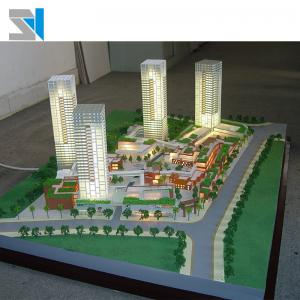 China Residential architectural 3d scale model with led warm lighting, 1/100 scale house model on sale