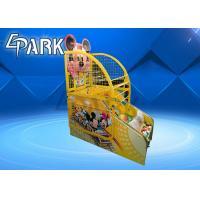 Attractive Cartoon Design Kids Basketball Arcade Game Machine