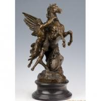 China Antique Romantic Mythic Bronze myth Sculpture on sale