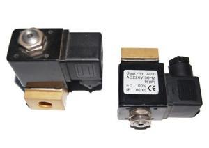 China válvula electromagnética del compresor de aire de Copco del atlas 220V, válvula magnética de cobre amarillo del agua de Sullair on sale