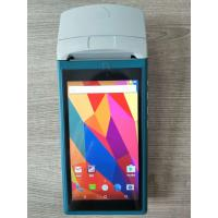 China handheld pos with printer  android PDA 5.5 inch Touch 3G Wifi Bluetooth  with 58mm Printer built-in on sale