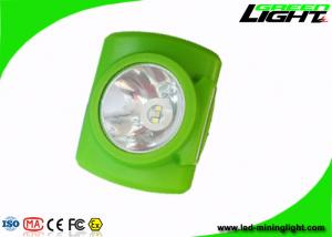 China OLED Screen Miners Cap Lamps Cordless Rechargeable Battery For Emergency Rescue on sale