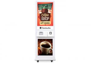 China Fast Food Ordering Display Self Service POS QR-code Payment Kiosk Machine on sale