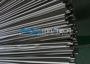 China Cold Drawn Stainless Steel Instrument Tubing ASTM A269 / A213 9.53mm x 22 SWG on sale