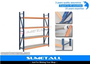 China Durable Light Duty Metal Industrial Shelving , Metal Storage Racks For Household Storage on sale