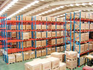 China Steel Heavy Duty warehouse shelving racks for Storage Equipments Assembled Structure on sale