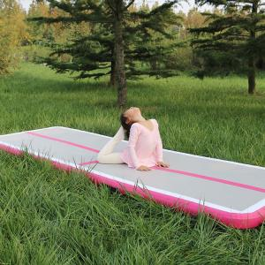 China Durable Air Track Gymnastics Mat , Inflatable Air Track Gym Mat 10cm Thickness on sale