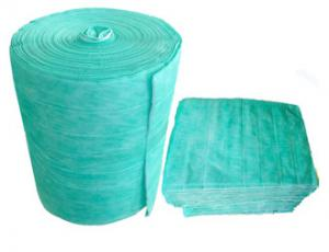 China 1.5 M/S Velocity Air Filter Material Roll Paper / Galvanizef / Aluminium Frame Washable on sale