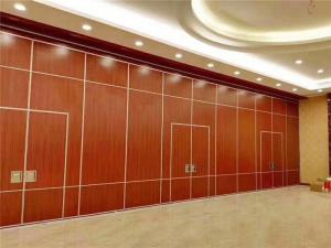 China Restaurant Flexible Sliding Partition Walls / Movable Walls Commercial on sale
