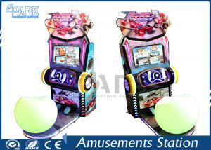 China coin operted simulator arcade racing car game machine driving car racing simulator on sale