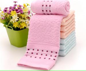 China Soft luxury bath towel face towel cotton towel on sale